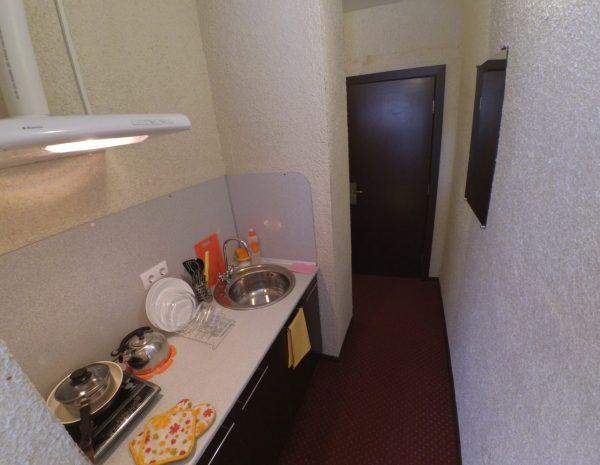 Кухня в двухместном номере Комфорт