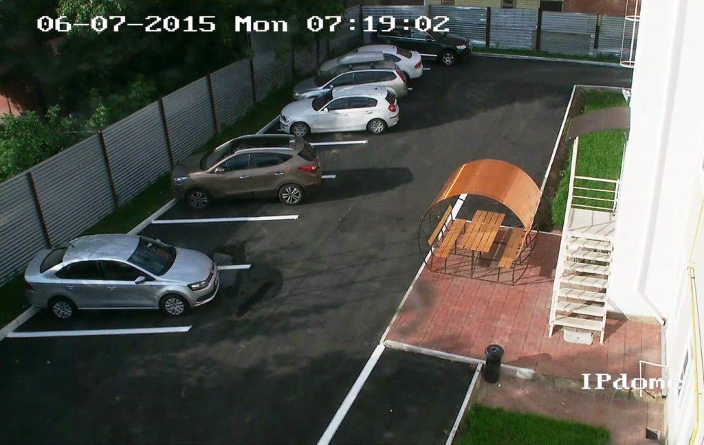 Парковка гостиницы Подворье | Центр Тулы