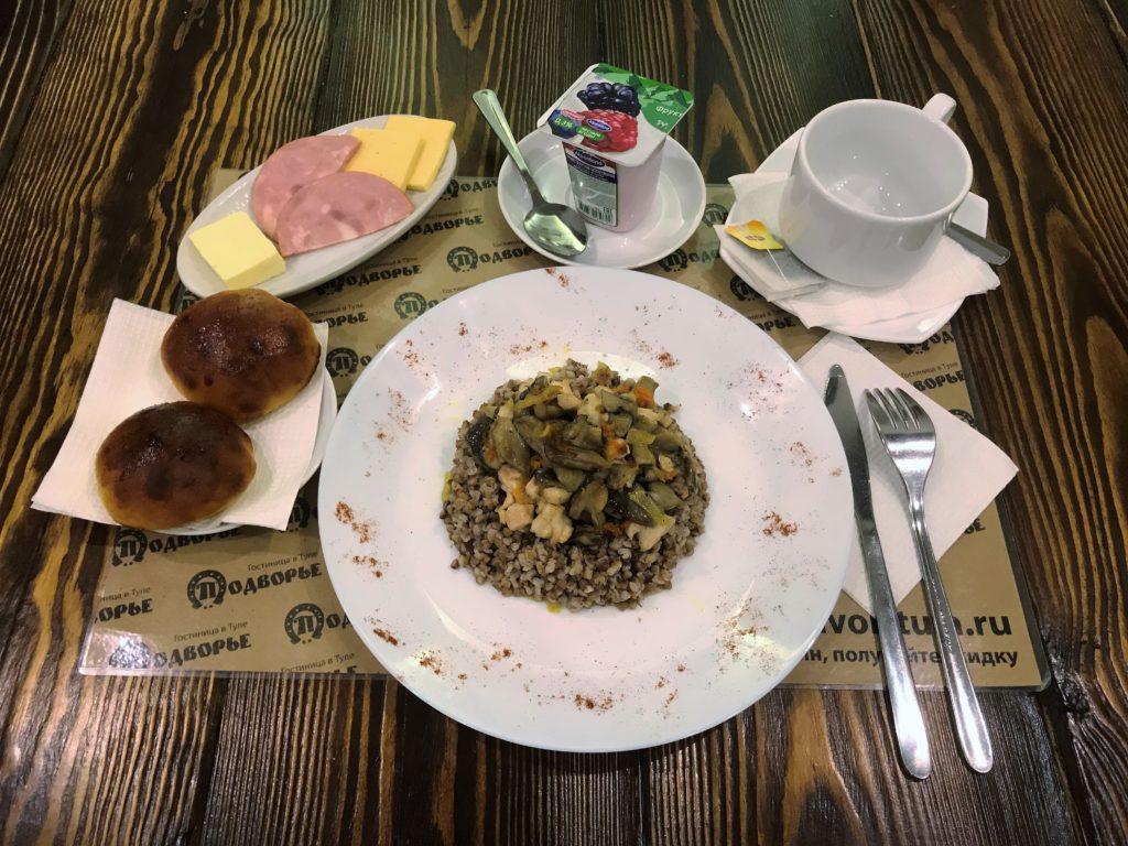 Кафе гостиницы Подворье | Центр Тулы